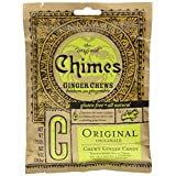 Chimes Original Ginger Chews, 5-Ounce Bag