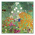 Art Nouveau Artist Gustav Klimt's The Flower Garden Counted Cross Stitch Chart/Graph