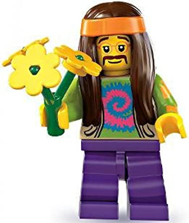 LEGO Figurines à Collectionner: Hippie Mini-Figurine (Série 7)