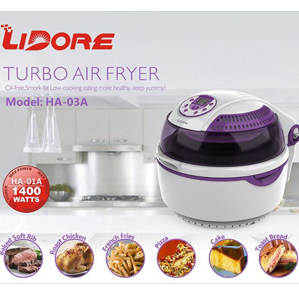 LIDORE 8-Modes Oil-Less Air Fryer