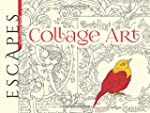 ESCAPES Collage Art Coloring Book