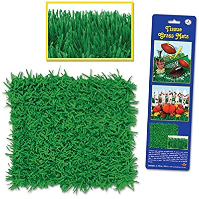 Beistle Tissue Grass Mats from Beistle