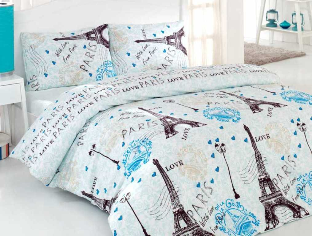 Eiffel Tower Paris Themed Bedding Sets