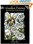 Garden Fairies Stained Glass Coloring...