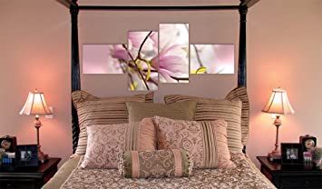 impression sur toile toile 200x90 cm 4 parties image sur sur toile images photo. Black Bedroom Furniture Sets. Home Design Ideas