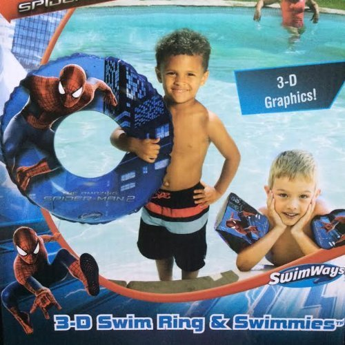 The Amzing Spider-man 2 (3-D) Swim Ring and Swimmies by Marvel