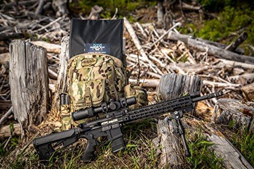 "AESHIELD - 10""x15"" Bulletproof insert easily defeats multiple magazines of ammunition"