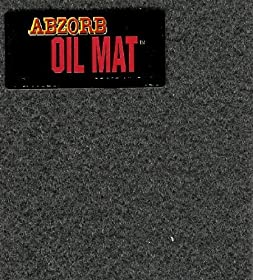 Garage Oil Abzorb Mat for Under Cars, Size 3' x 5', SET OF TWO Ships for $2.99