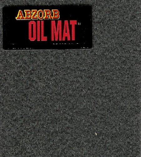 Garage Oil Abzorb Mat for Under Cars, Size 3' x 5', SET OF TWO Ships for $2.99 (3 Feet Under compare prices)