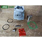 Tool Parts 40MM 43CC BC430 CG430 40-5 Engine Brush Cutter Cylinder Piston Kit with Cylinder Gasket Assy and Needle Bearing