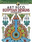 Creative Haven Art Deco Egyptian Desi...