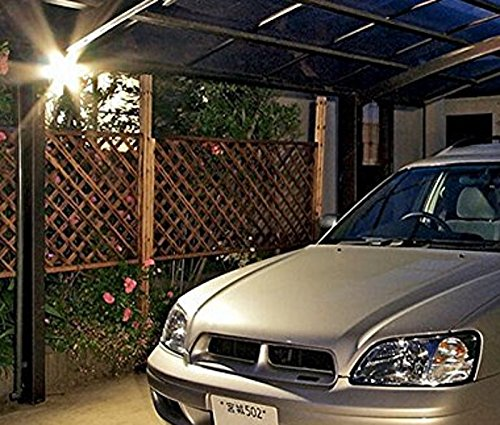 ZHMA Motion Sensor Floodlights 10W LED Outdoor Smart PIR Flood Lamp Waterp