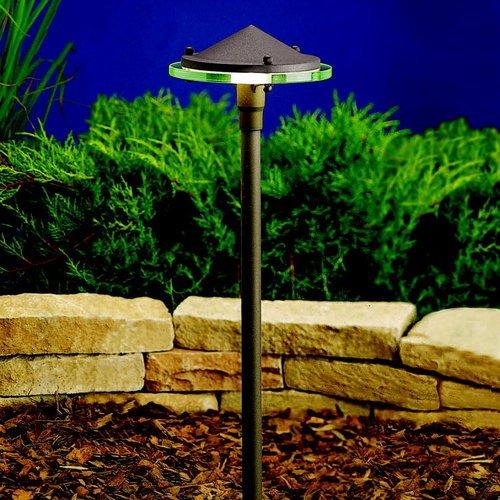 Kichler 15817 Energy Efficient LED Path Light, Textured Architectural Bronze