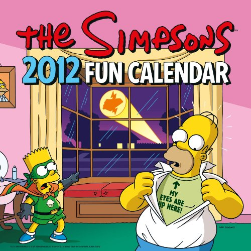 Official The Simpsons Calendar 2012