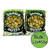 Green Jumbo Olives (Sunita) 12x450g