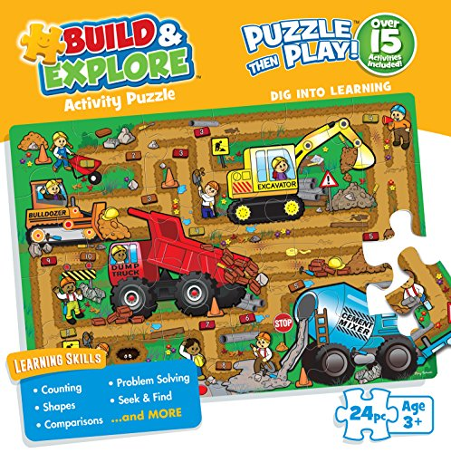 Buffalo Games Kid's Jigsaw Puzzle: Dig Into Learning - 24 Pieces
