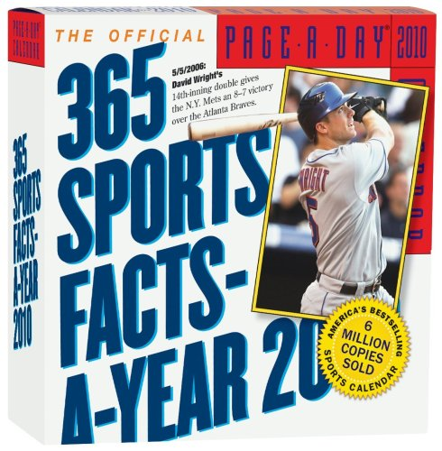 The Official 365 Sports Facts-A-Year Page-A-Day Calendar 2010