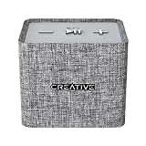 Creative NUNO micro Minimalistic Cube-sized Mini Portable Fabric Bluetooth Speaker (Grey)