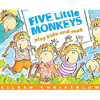 Set A Shopping Price Drop Alert For Five Little Monkeys Play Hide and Seek
