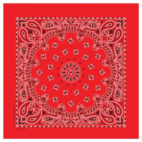 Carolina Insect Shield Bandana (Fire Red)