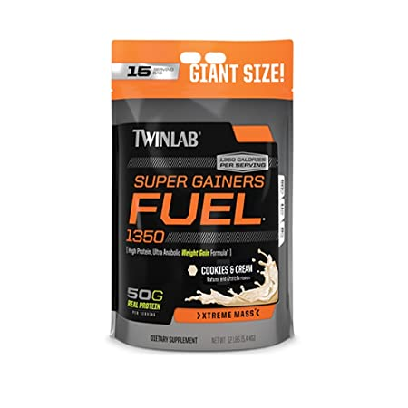 Twinlab Super Gainers Fuel 1350 Massgainer 12lbs Cookies and Cream