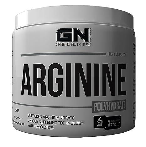 GN Laboratories Arginine Polyhydrate - Aminosäure - Geschmacksrichtung ORANGE ICE - 200g