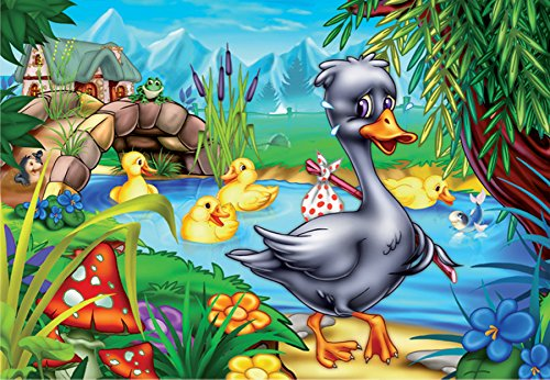 D-Toys Ugly Duckling Jigsaw Puzzle, 60-Piece
