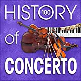 The History of Concerto (100 Famous Songs) Album Cover