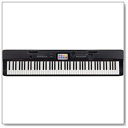 Casio CGP-700BK 88-Key Digital Grand Piano with Color Touch Screen Display Review