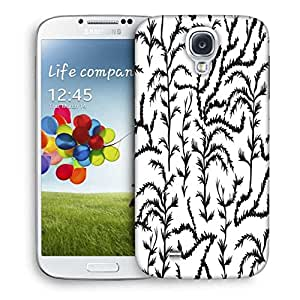 Snoogg Black Trees Designer Protective Phone Back Case Cover For Samsung Galaxy S4