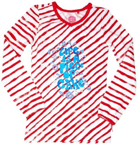 Cakewalk CN07 Patterned Girl's T-Shirt  Sky
