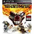 Twisted Metal: Limited Edition [PlayStation 3 PS3 BONUS Metal Black Game] NEW