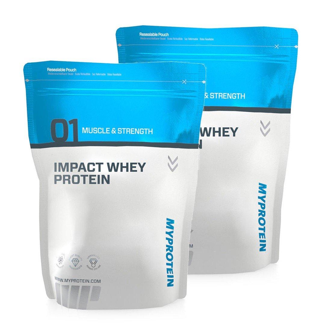 Myprotein Impact Whey Protein 2 x 1000g