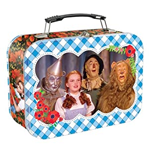 Vandor 71470 The Wizard of Oz Large Tin Tote, Multicolored