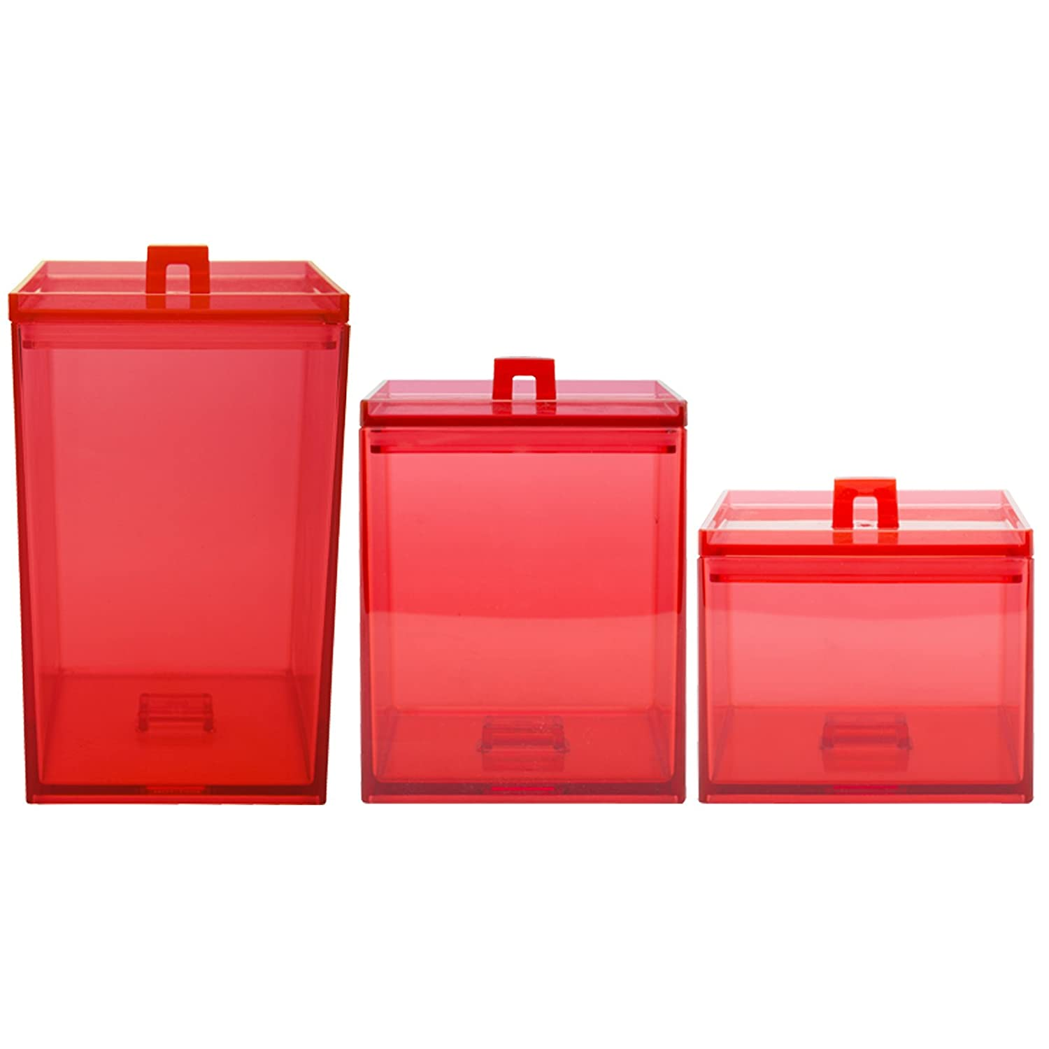 Red Canister Sets With Image Str8talk Storify