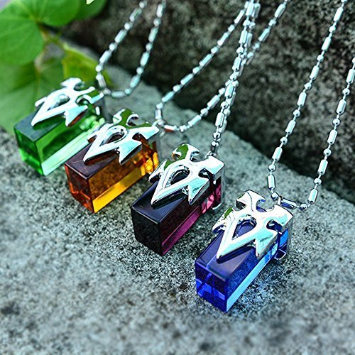Onecos Sword Art Online SAO Metastasis Crystal Necklace Blue