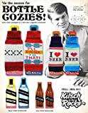"1 X ""I Love Beer"" Knit Bottle Cozy (Blue/White/Green)"