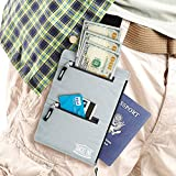 Shacke Hidden Travel Belt Wallet w/ RFID Blocker