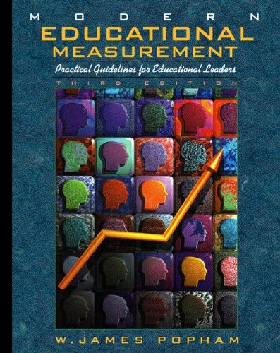 Modern Educational Measurement: Practical Guidelines for...