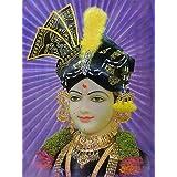 "Dolls Of India ""Lord Krishna"" Reprint On Glazed Paper - Unframed (31.75 X 41.91 Centimeters)"