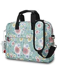Ropper 13 13.3 Inch Laptop Bag,Durable Lightweight Laptop Computer Messenger Shoulder Bag Briefcase