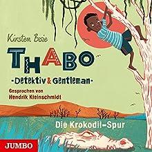 Die Krokodil-Spur (Thabo - Detektiv und Gentleman 2) Hörbuch von Kirsten Boie Gesprochen von: Hendrik Kleinschmidt