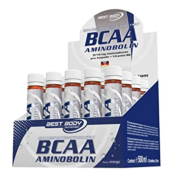 Best Body Nutrition BCAA Aminobolin, 20 Ampullen je 25ml