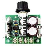 Onyehn DC 12V 24V 30V 40V 13KHZ Auto PWM DC Motor Speed Regulator with Reverse Polarity Protection, High Current Protection Governor Speed Controller Switch 10A 50V 1000uF