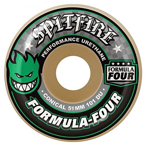 spitfire-formula-four-ruote-da-skateboard-conico-verde-stampa-naturale-51-mm