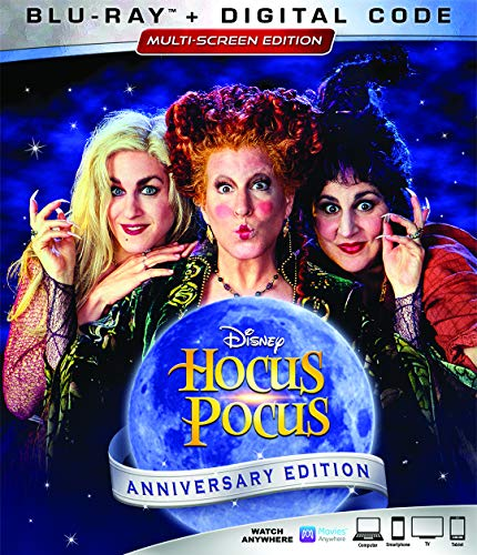 Blu-ray : Hocus Pocus (25th Anniversary Edition) (Anniversary Edition, Dubbed, Digital Copy, Dolby, AC-3)