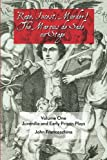 img - for Rape, Incest, Murder! The Marquis de Sade on Stage Volume One: Juvenilia and Ear book / textbook / text book