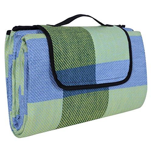 ® 195 x 150 cm Wasserdichte Picknickdecke Campingdecke Stranddecke Mit Tragegriff GCM50C