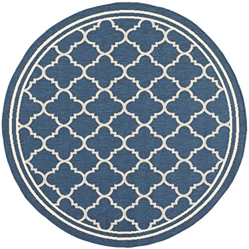 Safavieh Courtyard Collection Cy6918 268 Navy And Beige