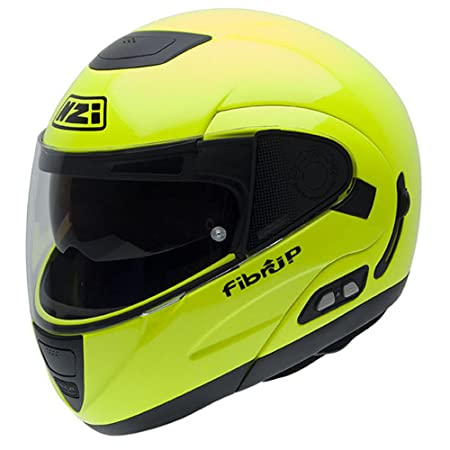 NZI 010220G289 Fibrup Fluo Yellow PH, Casque de Moto, Taille XXL Multicolore